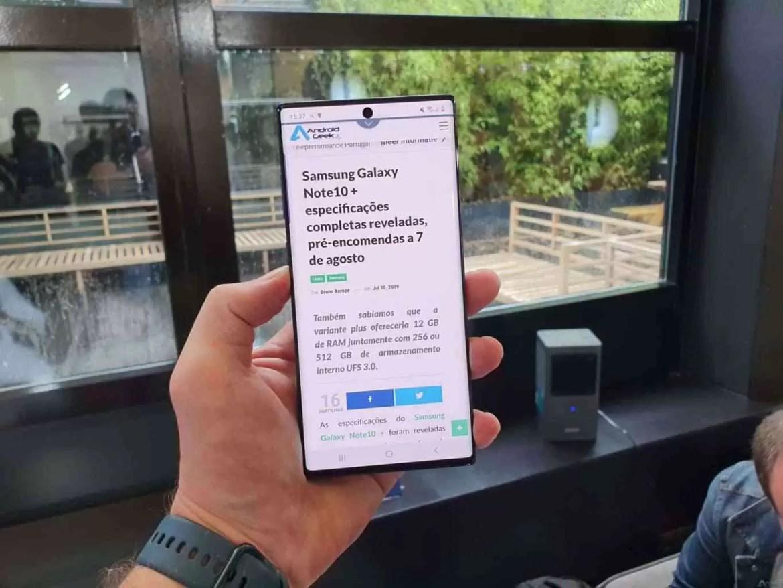 Samsung Galaxy Note 10 e Note10+ são oficiais e podes saber tudo aqui! 6