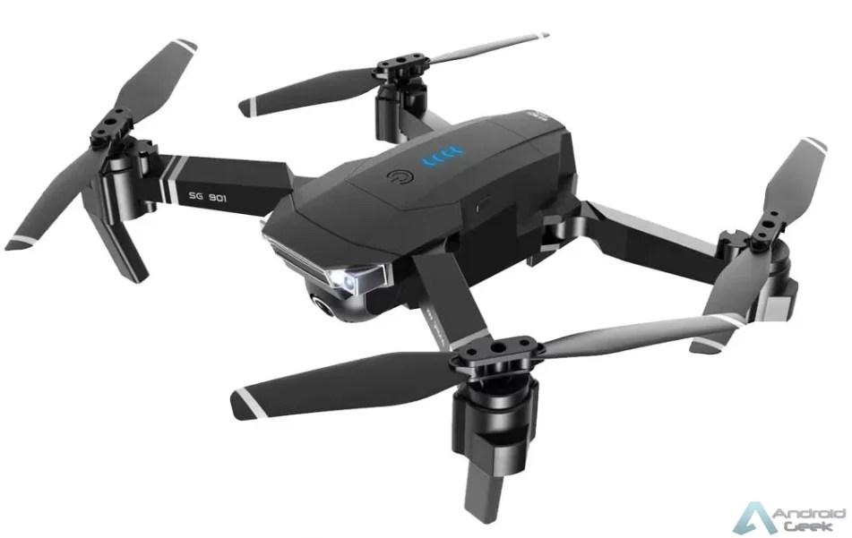 SG901 Dronecom câmara dupla e bateria de longa duração com 45% de desconto! Agarra o teu código de desconto 1