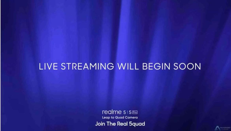 Vejam o anúncio do Realme 5 e do Realme 5 Pro ao vivo aqui 1