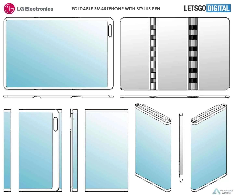 LG Foldable Patent