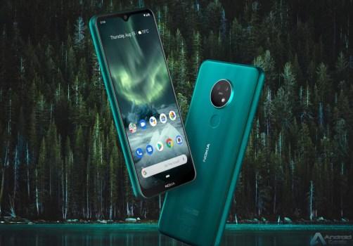Nokia 7.2 em destaque