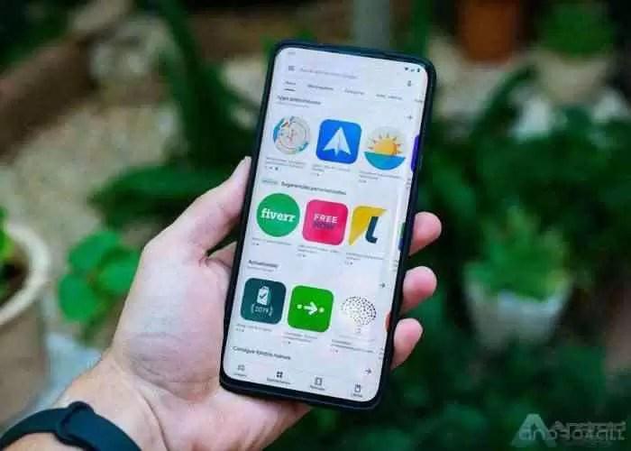Google Play Store, novo design de 2019