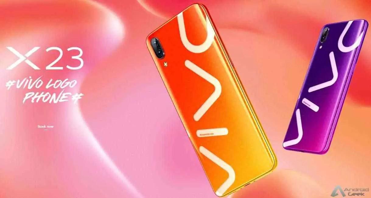 vivo x23 logo phone