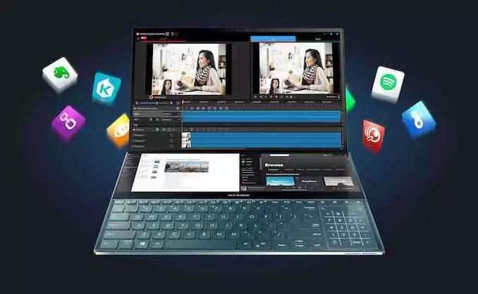 Asus ZenBook Duo Pro é um laptop de ecrã duplo com 100% de DCI-P3 OLED 6