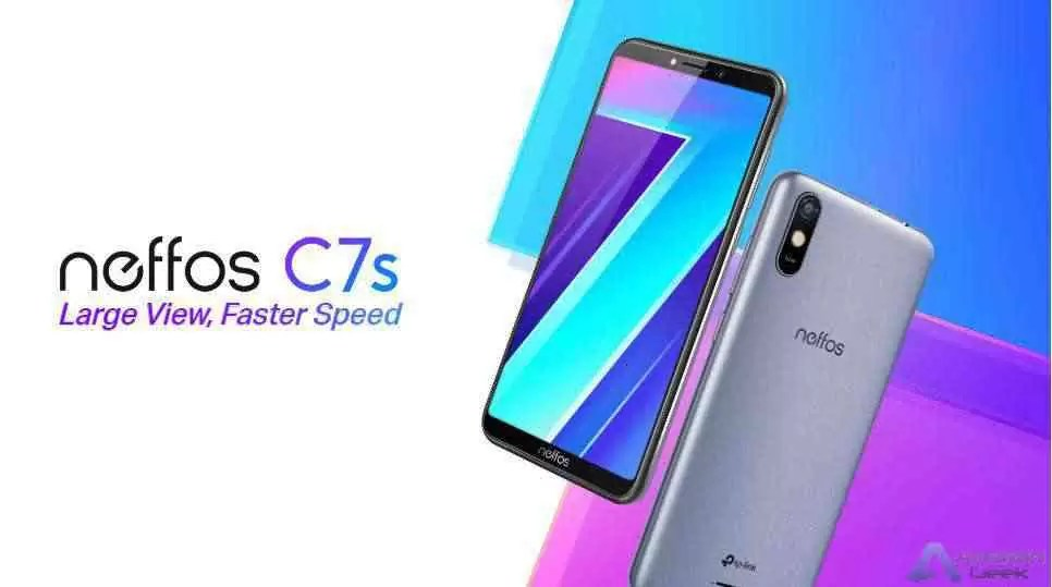 O novo Neffos C7s: o mais recente membro da Série C 1