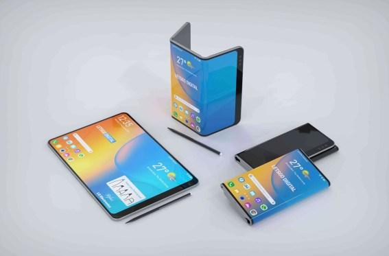 LG Foldable Render