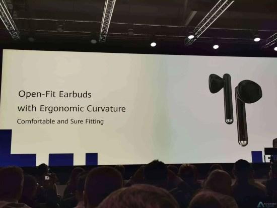 Huawei apresenta fones de ouvido Freebuds 3, com cancelamento activo de ruído 1