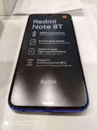 Imagens ao vivo do Redmi Note 8T