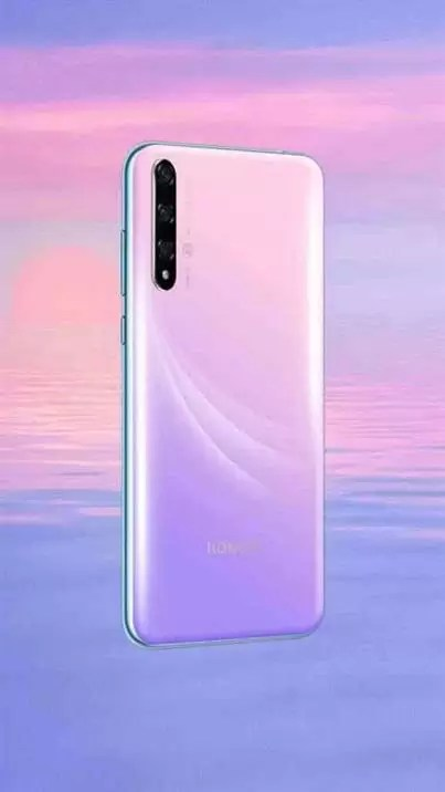 Honor 20 Lite (vista traseira)