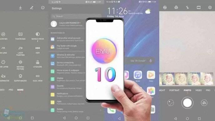 Huawei Enjoy 10 Plus, Nova 4e e Mate 20 Lite já receberam a actualização EMUI 10 1