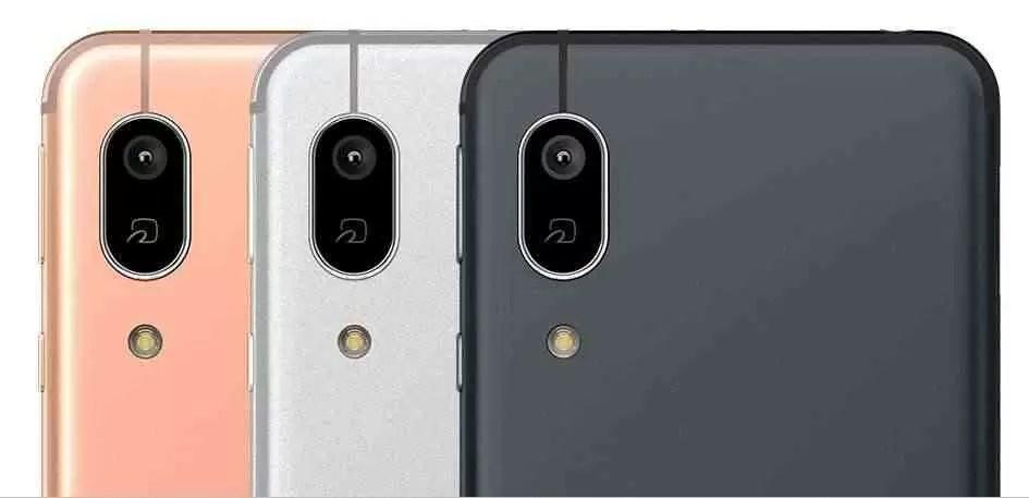 Câmera traseira Sharp S7 Android One