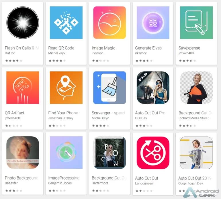 Adware para ocultar ícones detectado em 15 aplicações 1