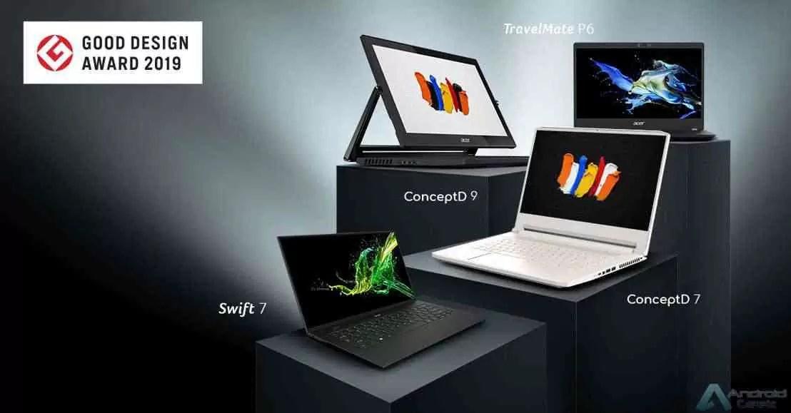 Acer distinguida nos Good Design Awards 2019 3