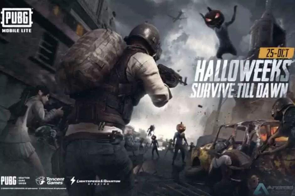 PUBG Mobile Lite adiciona um novo modo de sobrevivência Halloween 1