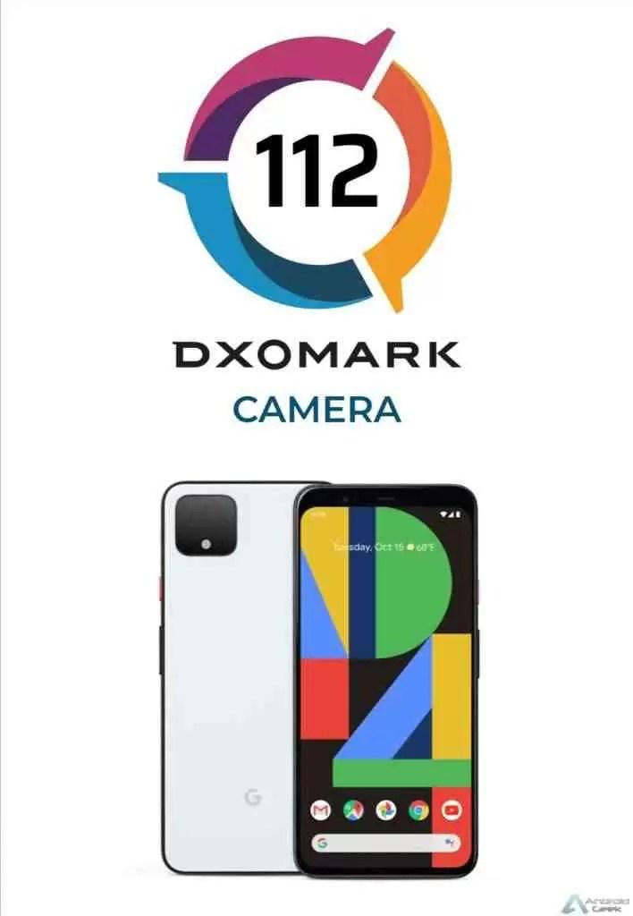 DxOMark: Pixel 4 pontua menos que o Galaxy S10 + 1