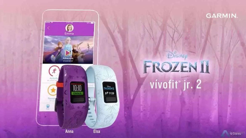 Garmin junta as estrelas Frozen 2 e Star Wars da Disney à sua linha de monitores de atividades vívofit jr. 2 1