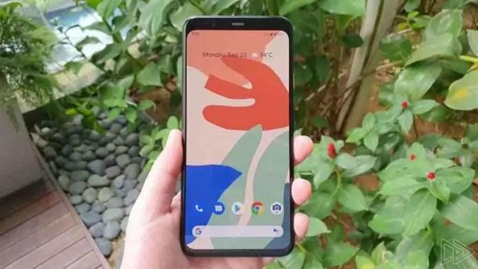 Google Pixel 4 XL vazado (vista frontal)