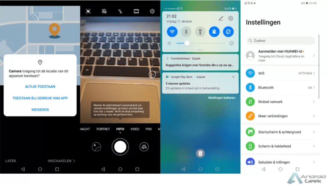 Huawei Mate 20 Pro começa a receber Android 10 1