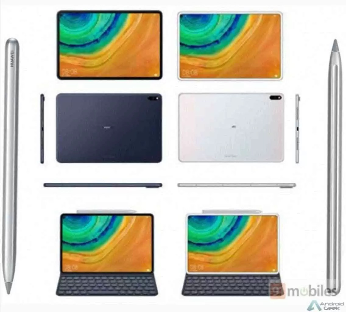 Huawei MediaPad M7 aparece em renders 3