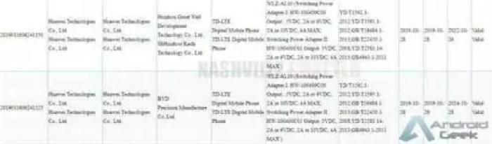 Huawei Nova 6 recebe certificação 3C, com carregamento rápido de 40W 2