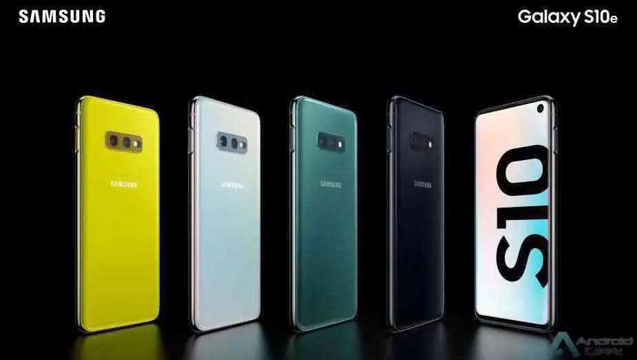 Já sabemos quais as cores de lançamento do Samsung Galaxy S10 Lite 1
