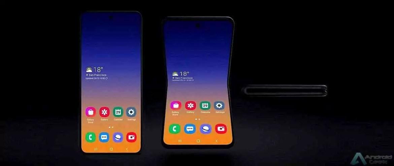 Samsung revela um novo smartphone Galaxy Fold que dobra verticalmente 3