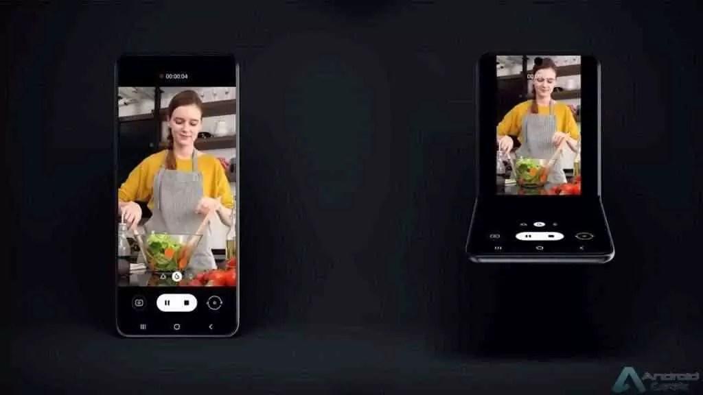 Samsung revela um novo smartphone Galaxy Fold que dobra verticalmente 4
