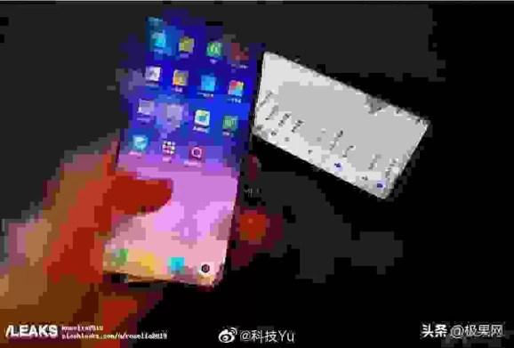 Suposto Xiaomi Mi Mix 4 revelado com um ecrã Cascata 2