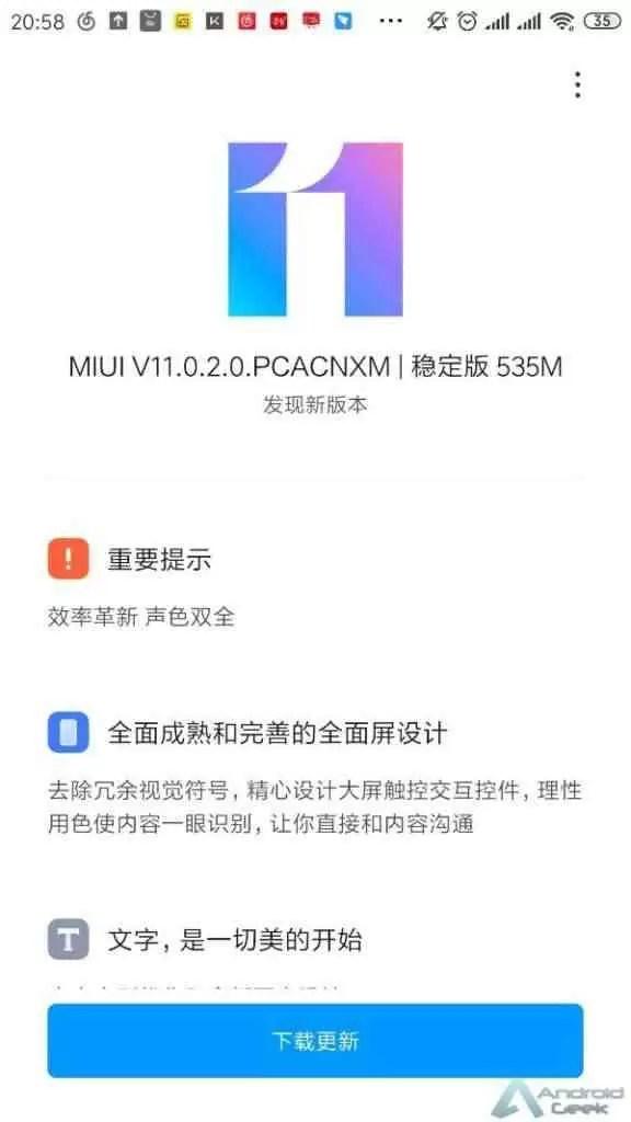 Xiaomi Mi 6 recebe MIUI 11, mas não é baseado no Android 10 2