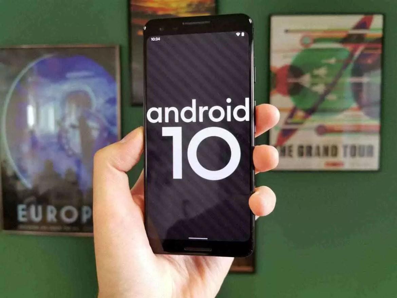 Atualização para Android 10