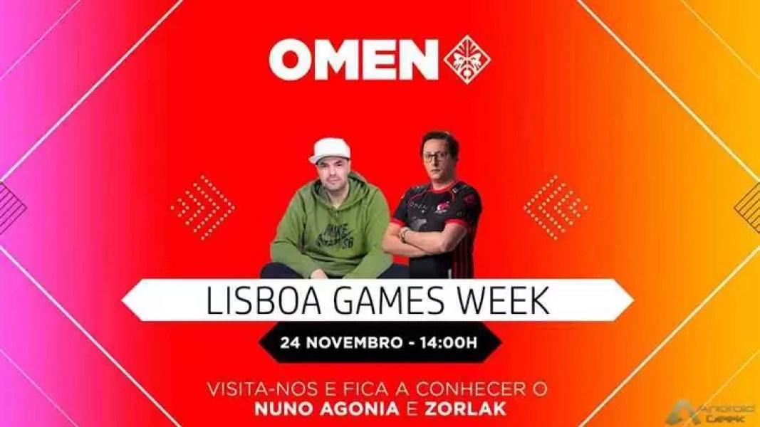 OMEN by HP Marca Presença na Lisboa Games Week 1