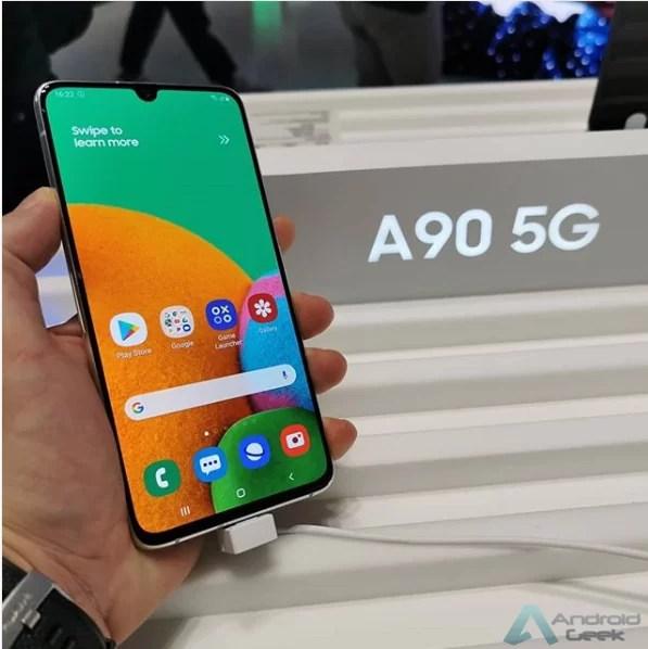 Bateria do Galaxy A90s (SM-A907F) 4.200mAh detectada em certificação 1