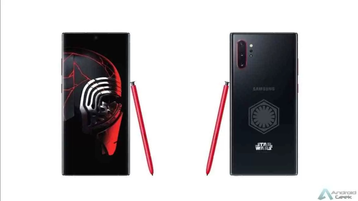 Galaxy Note10 + Star Wars Special Edition chega antes do filme Rise of Skywalker 1