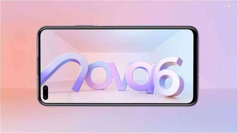 Huawei Nova 6 5G com câmara selfie ultra grande angular de 105 graus será lançado a 5 de dezembro 2