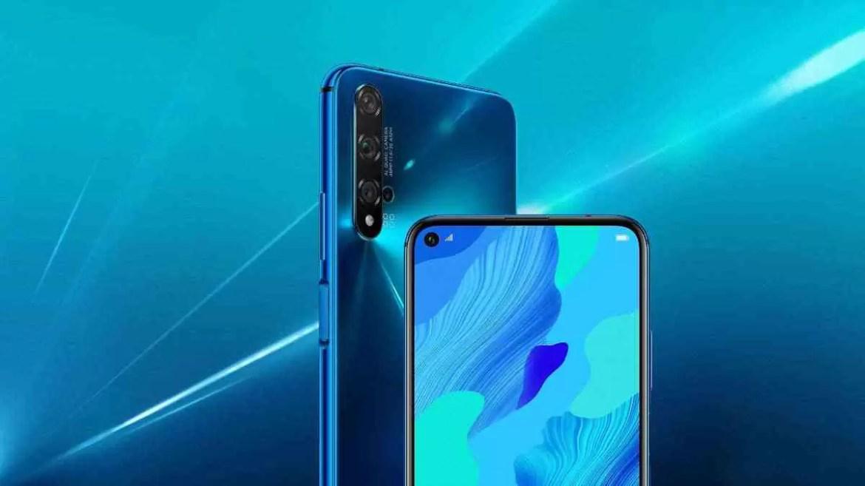 Novo smartphone Huawei nova 5T chegou para redefinir o seu estilo 2