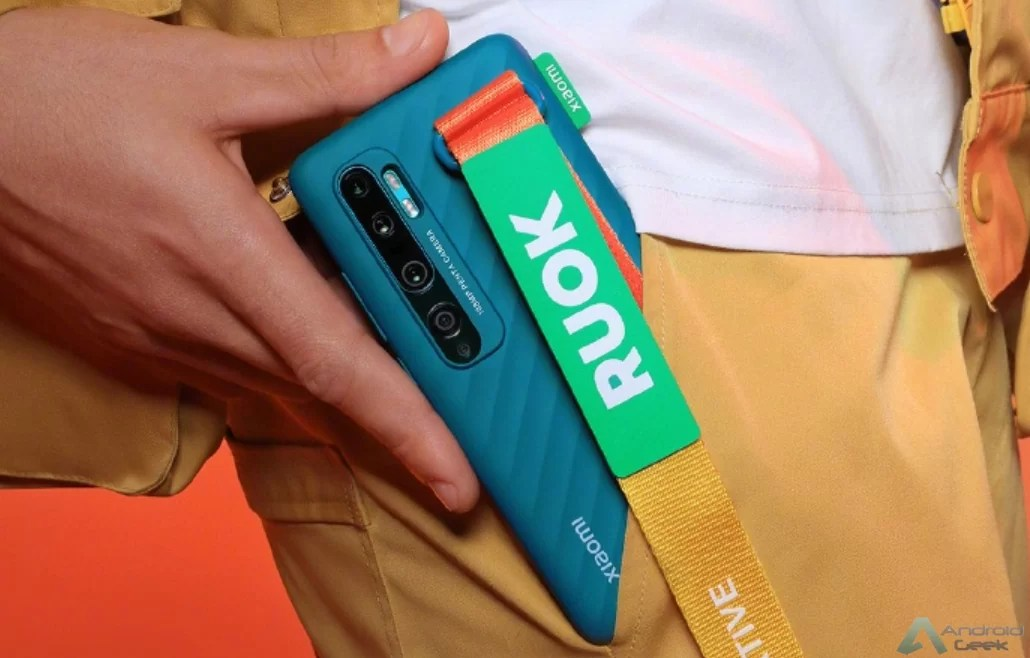 O Xiaomi CC9 Pro será lançado com a capa protetora RUOK 1