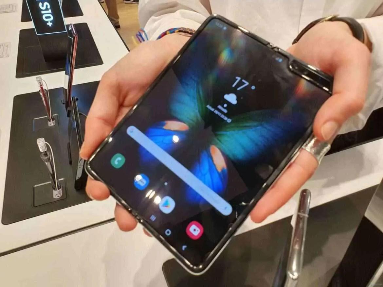 Android 10 para o Samsung Galaxy Fold já está a caminho 1