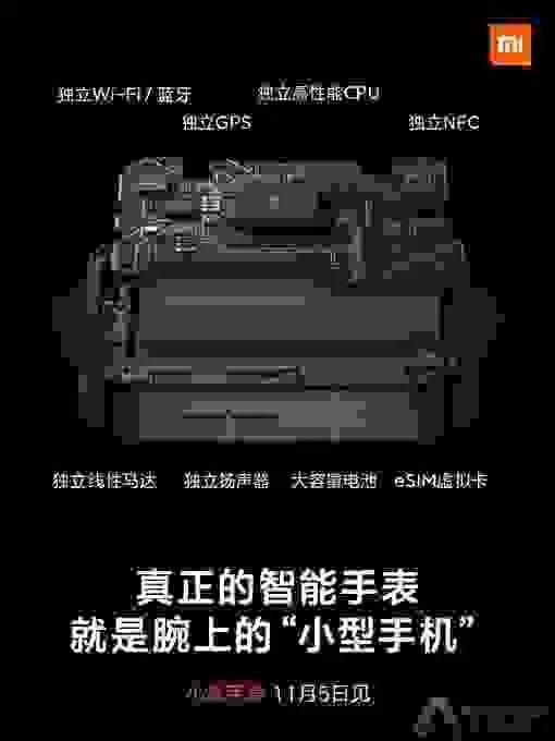 Xiaomi Watch: Tudo o que há para saber 3