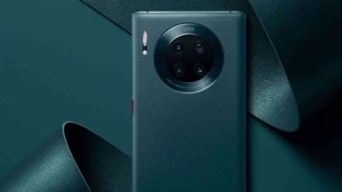 Huawei Mate 30 Pro 5G Vegan Leather Forest Green