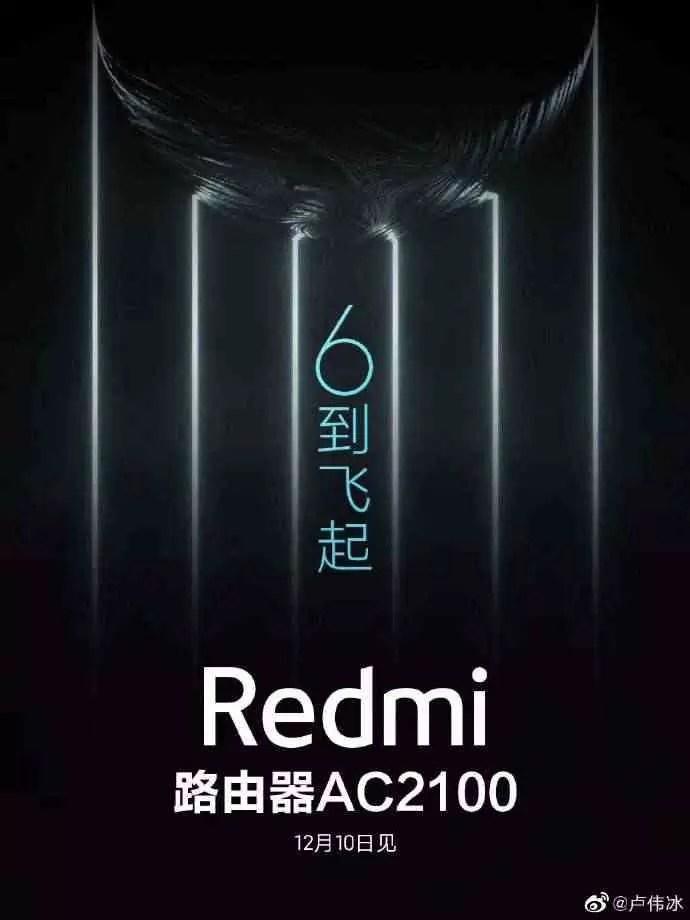 Roteador Redmi AC2100