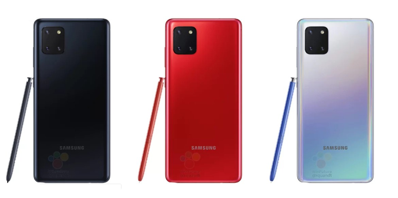 Cores do Samsung Galaxy Note 10 Ltie-