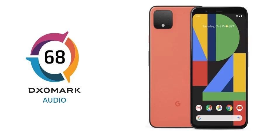 Google Pixel 4 faz 68 pontos no teste áudio DxOMark, entre os 5 melhores smartphones 1