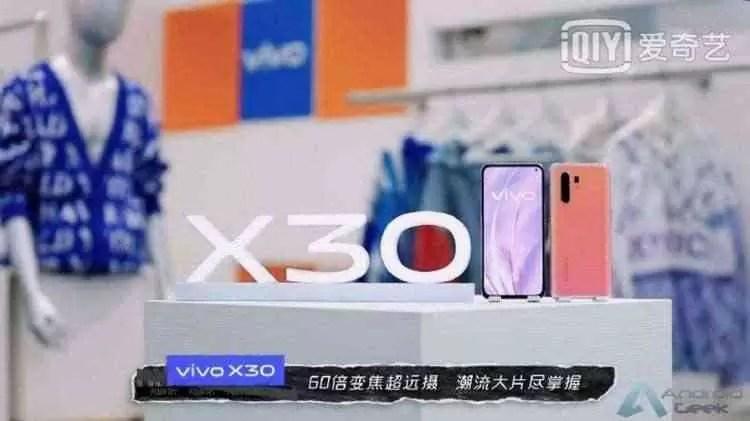 Fotos reais do Vivo X30 revelam um scanner de impressão digital no ecrã 2