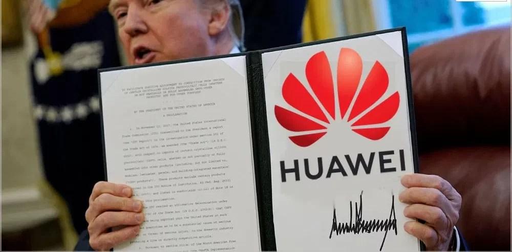 Huawei proibir suspensão