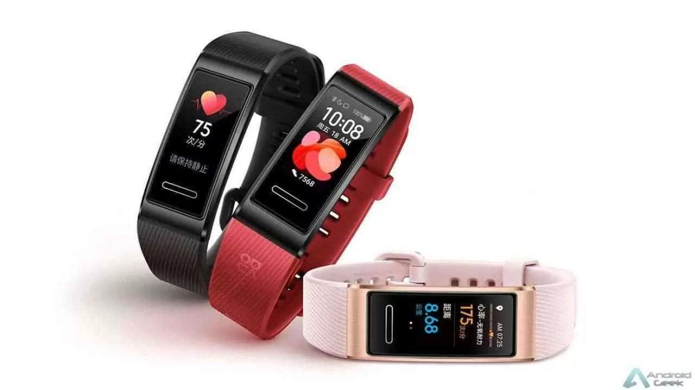 Huawei lança Band 4 Pro com GPS, NFC e mais recursos independentes 1