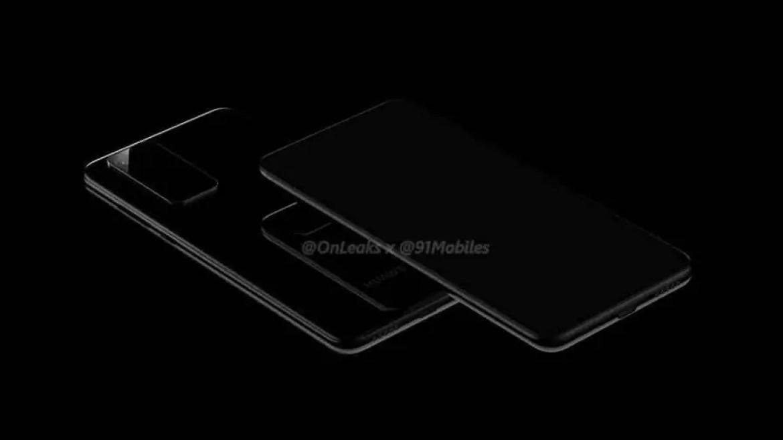 Huawei P40 e P40 Pro primeiros renders , mostram novo design da câmara 3