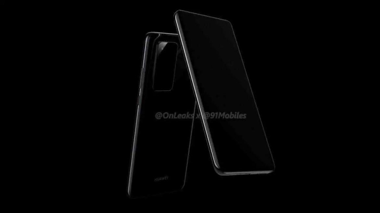 Huawei P40 e P40 Pro primeiros renders , mostram novo design da câmara 2