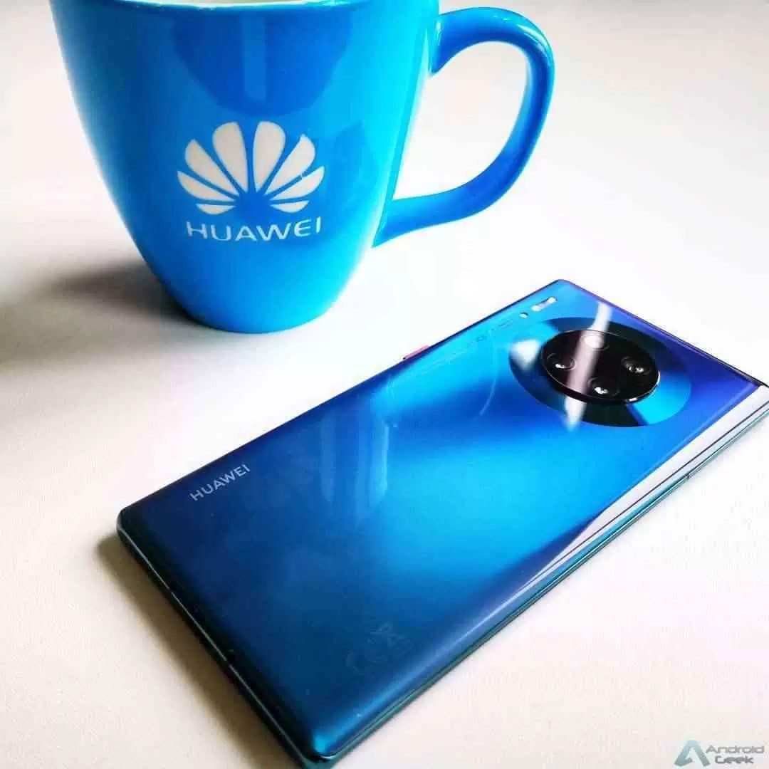 Nova atualização para a série Huawei Mate 30 series otimiza a câmara e instala patch de dezembro 1