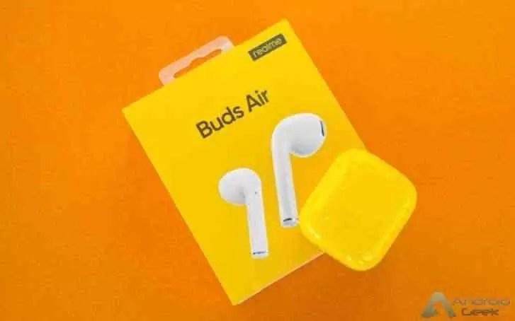 Realme Buds Air estreiam na China a 7 de janeiro 2