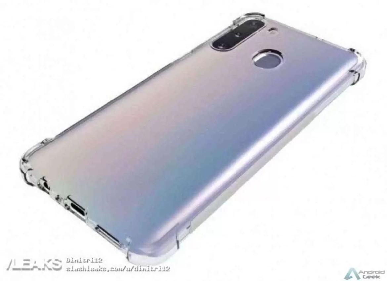 Renders mostram possível design do Samsung Galaxy A21 4